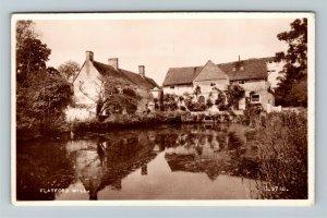 RPPC of Suffolk England, Flatford Mill, Postcard