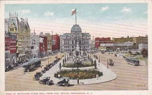 Rhode Island Providence View Of Exchange Place Mall From Post Office