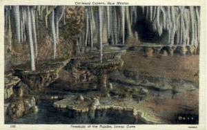 Fountain of the Fairies Carlsbad Caverns National Park NM Unused