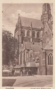 HAARLEM, Noord-Holland, Netherlands, 1900-1910's; Groote Kerk Klokhuisplein