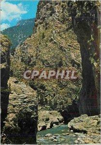 Postcard Modern Crete's Samaria Ravine