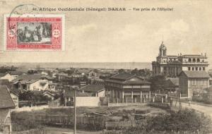 CPA Sénégal Afrique Fortier 48. Dakar - Vue prise de l'Hopital (68003)