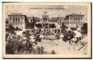 Old Postcard Marseille Longchamp Palace