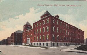 INDIANAPOLIS, Indiana, 00-10s; Manual Training, High School