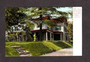MA S F Smith House NEWTON CENTRE MASS Postcard UDB PC