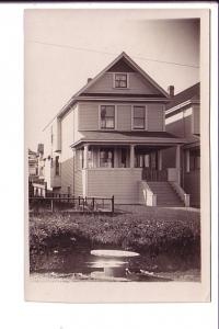 Real Photo, House with Porch, AZO