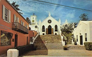 Historic St Peter's Church Short Walk From the Town Square Bermuda Island Pos...