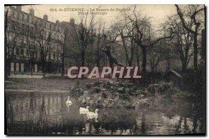 Postcard Old Saint Etienne Basin Daphne Place Marengo