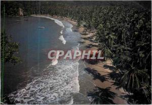 Modern Postcard Playa Medina