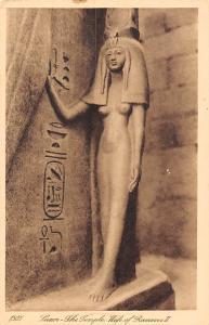 Egypt Luxor, The Temple, Wife of Ramses II