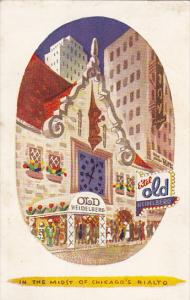 Illinois Chicago Old Heidelberg Restaurant