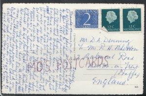 Family History Postcard -Denning / Whetton -3 Balmoral Rd,Burton-On-Trent RF4360