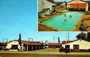 Arizona Tucson Desert Motor Hotel 1964