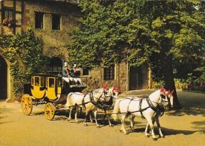 Mail Coach Postkutsche Bad Kissingen Aschach Bad Bocklet Germany