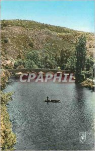 Postcard Modern picturesque Valley of the sioule old bridge menat