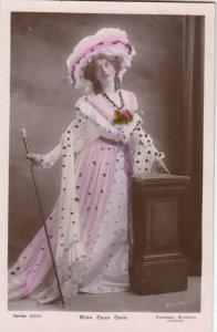 RP: Miss Zena Dare , 1900-10s ; Version-2