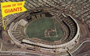 SAN FRANCISCO , California ,1950-60s ; Baseball Giants Stadium