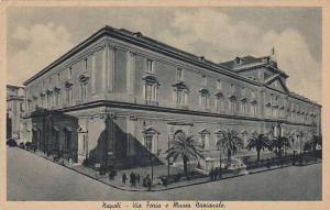 Napoli,Via Foria e Museo nazionale, Italy, 00-10s