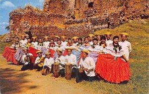 Folklore Entertainers Canajagua Las Tablas Panama Unused