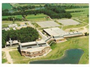 Doon Campus, Conestoga College, Kitchener, Ontario, Chrome Aerial View Postcard