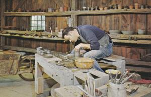 Pottery Maker , STURBRIDGE , Massachusetts , 50-60s