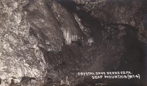 RP: CRYSTAL CAVE , Berks Co. , Pennsylvania , 00-10s ; Soap Mountain