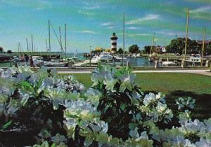 South Carolina Hilton Head Island Harbour Town Lighthouse & Marina 1982