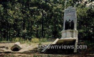Illinois Monument - Marietta, Georgia GA
