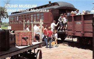 Grand Island Nebraska~Stuhr Prairie Pioneer Museum~Caboose~1950s PC