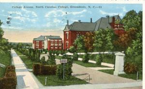 NC - Greensboro, College Avenue, North Carolina College