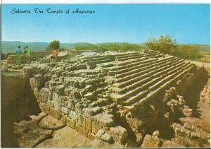 Sebastia, The Temple of Augustus, unused Postcard