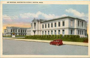 MA - Boston, Art Museum, Huntington Avenue