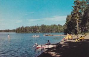 Fishing Lakes, Boat, In Beautiful British Columbia, Canada, 1940-1960s