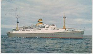 SS MAASDAM - PAQUEBOT CANCEL