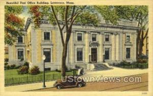 Post Office Lawrence MA Unused