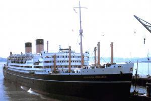 New Postcard Savil Shaw Passenger Liner Cruise Ship Dominion Monarch 1960 #247