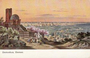 DAMASKUS , Damas , Syria ; 1900-10s