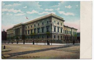 1907-1915 Philadelphia PA The United States US U.S. MINT Money RARE DB Postcard