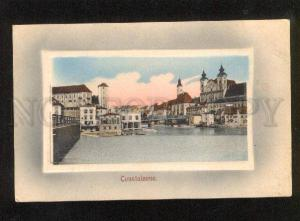 049260 Constaleone from water view Vintage embossed PC