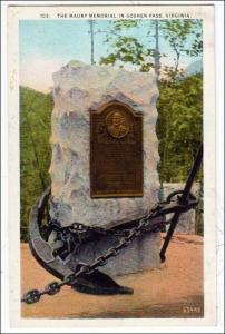 Maury Memorial, Goshen Pass, VA