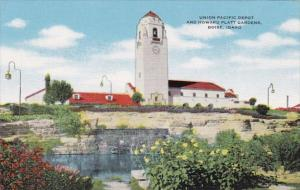 Idaho Boise Union Pacific Depot and Howard Platt Gardens