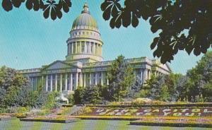 Utah Salt Lake City State Capitol Building 1971