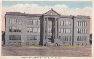 Aberdeen High School , Moncton , New Brunswick , Canada , PU-1921