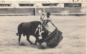 RP: Bull Fighting , Armillita , Pase Natural , Mexico , 1910-30s