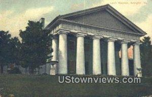 Lees Mansion - Arlington, Virginia