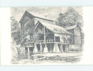 1970's OLD MILL AT RAINBOW TROUT RANCH Rockbridge In Ozarks by Branson MO G1497