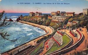 France La Cote Basque, Biarritz Les Falaises de la Cote des Basques