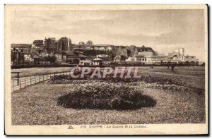 Dieppe - The Casino and the Castle - Old Postcard