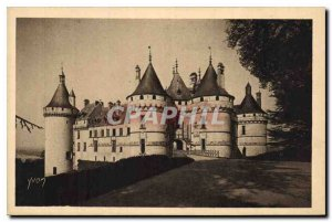 Old Postcard La Douce France Chateaux of the Loire Chateau de Chaumont sur Loire