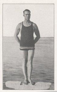 CATALINA ISLAND, California, 1900-10s; Deep Sea Diver, Oscar Griffith